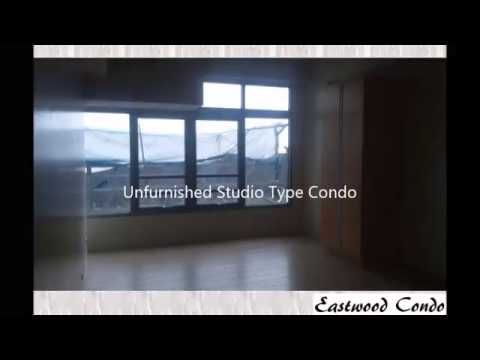 Eastwood City Condo for Rent - Unfurnished Studio Type