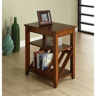 @Overstock - Reduce clutter in your living room with this convenient magazine rack end table. It has a drawer and a magazine rack to hold all your magazines and an extra shelf to store other items. With its antique oak finish, it also brings style to your room.http://www.overstock.com/Home-Garden/Antique-Oak-1-drawer-Magazine-rack-End-Table/6570087/product.html?CID=214117 $163.99