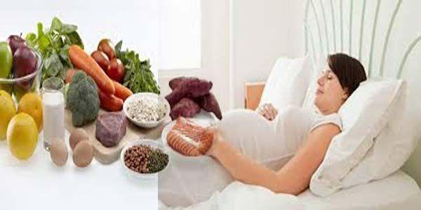 makanan yang sehat untuk ibu hamil terdiri dari aneka jenis makananyang mengandung karbohidrat kompleks yang baik untuk kesehatan dan perkembangan janin