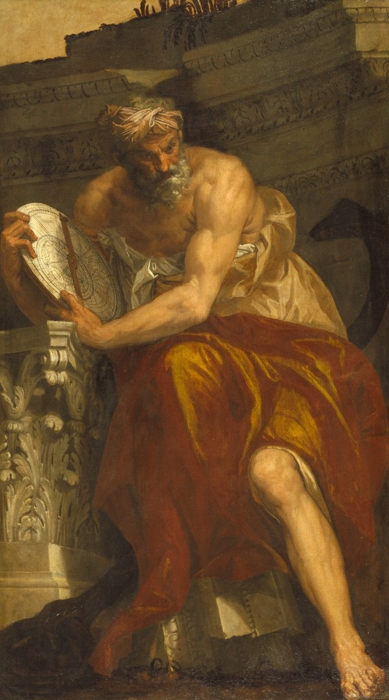 Allegory of Navigation with an Astrolabe: Ptolemy  Paolo Caliari Veronese (Italy, Venice, 1528-1588)