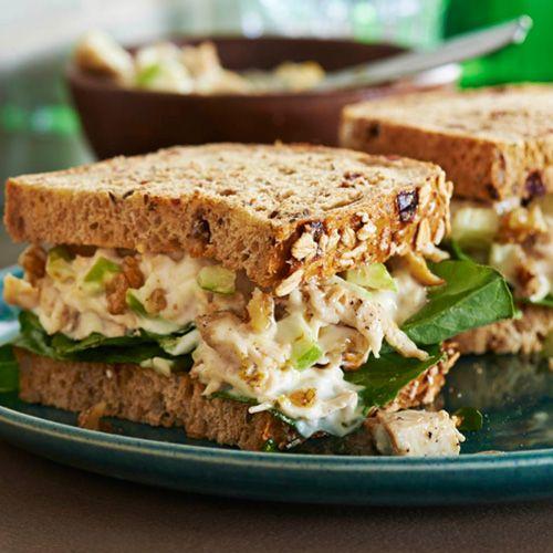 Les 25 meilleures id es de la cat gorie salades de poulet aux canneberges sur pinterest wrap - Idee garniture wrap ...