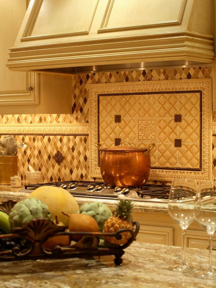 Mediterranean Charm Exudes From This Beautiful Kitchen. It Has Every  Convenience A Modern Chef Could