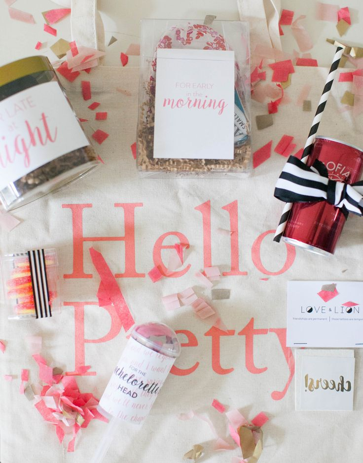 DIY: Bachelorette Party Goodie Bags