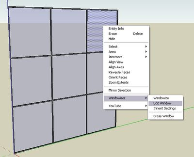 Cad Addict - Software para Arquitectura: SketchUp Plugins: Windowizer