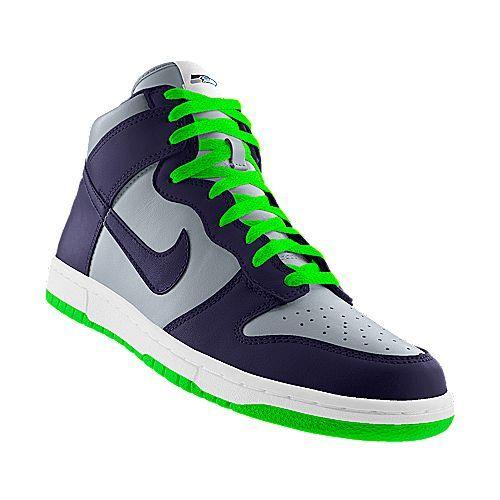 ... Nike Dunk High NFL Seattle Seahawks iD ... c77bb968d