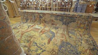 Tapestry mystery: Long-lost Julius Caesar tapestry King Henry VIII - The Persian Gallery New York City