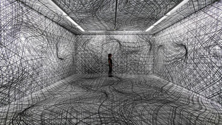 Galerie im Taxispalais Innsbruck, Ausstellung Zeitsprung, 2014   Peter Kogler