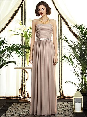Dessy Collection Style 2898 - Gatsby inspired bridesmaid dress. Visit www.missrubyboutique.com for dress information.