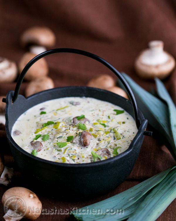 Mushroom and Leek Pasta-20