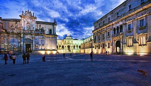 Piazza Duomo, Lecce