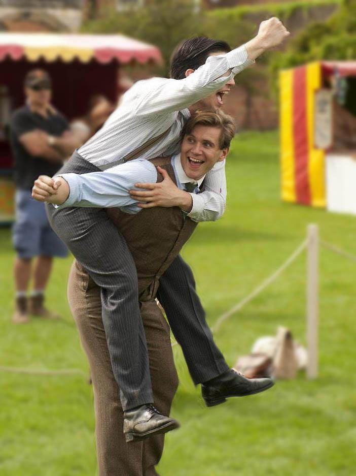 """Branson and Thomas...Loved This County Fair Episode...Nice To See Almost Total Focus On """"The Downstairs' Staff""""--Great Characters, All!!"""