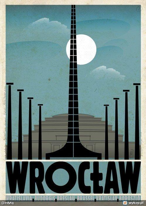 Ryszard Kaja, Polish Poster, Wrocław