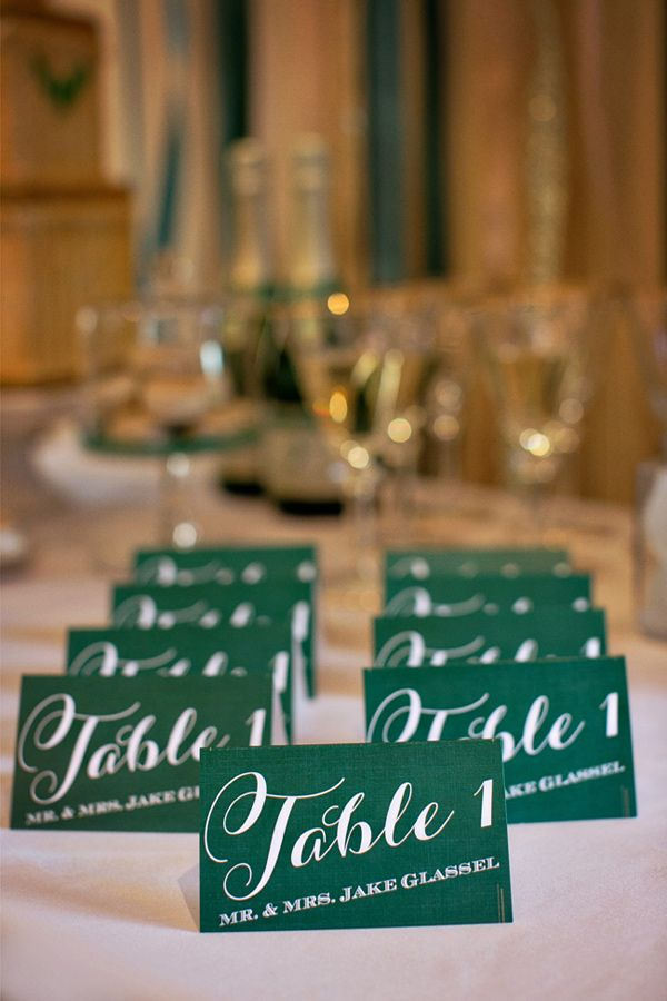 Champagne and emerald wedding ideas from sugar branch for Emerald city nickname