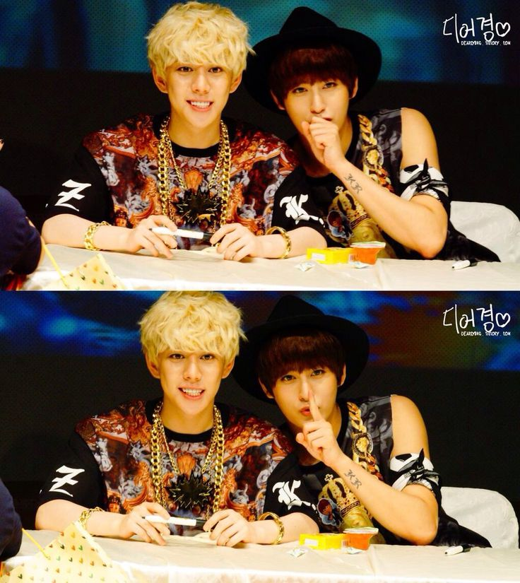 Park Kyung and Ahn Jaehyo. My two biases in block b ^-^ (but I have 2 more xD)