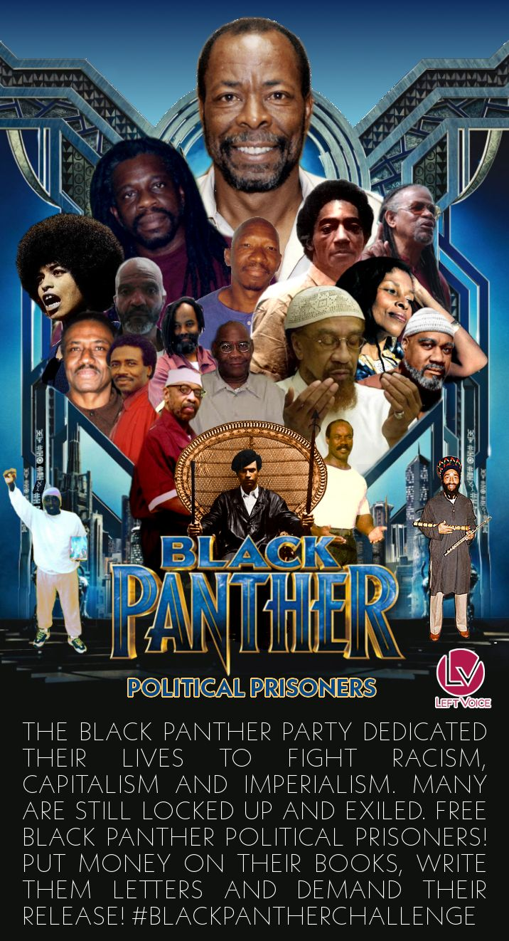 Real Superheroes! Support Black Panther Political Prisoners