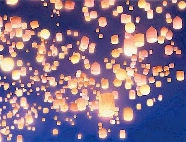 Paper lanterns from TangledLights, Stars Tangled Lanterns Flo, Ideas, Wedding Plans, Dreams, Chinese Lanterns, Sky Lanterns, Floating Lanterns, Chine Lanterns