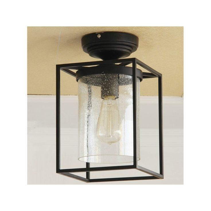 Ceiling Lights Flush Mount American Country Markor Wrought Iron Aisle Flush Mount Light In