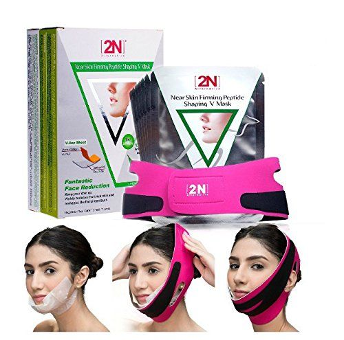 New 2n Face Lifting Firming Face Care Mask 7pcs with a Bandag Belt Vline Facial Slimming Shaping Mask * More info could be found at the image url. (Note:Amazon affiliate link)