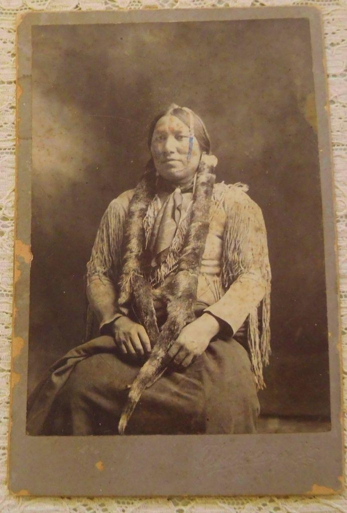 Spotted Bird Jr. Kiowa 1890