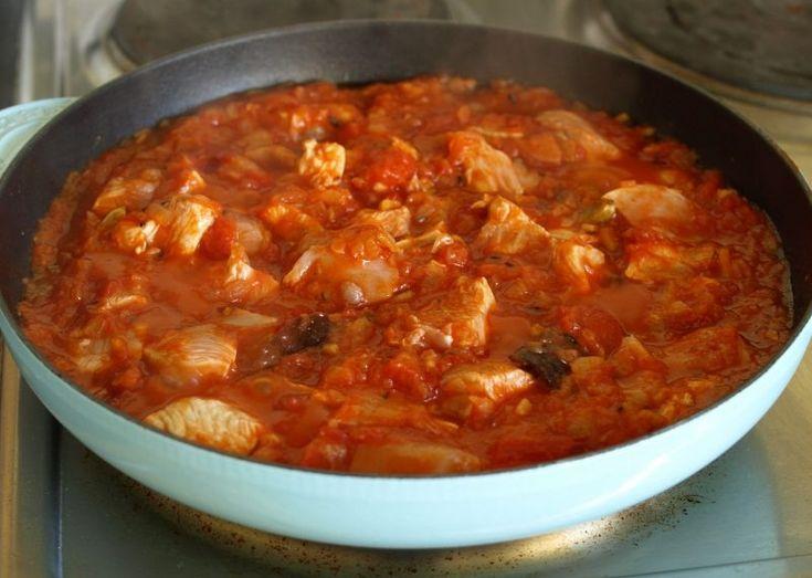 Lecsós csirke – füstölt szalonnával és padlizsánnal, fejedelmi falatok!!