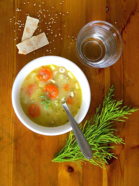 Betasuppe- sopa de papas, zanahoria y carne de puerco a la noruega