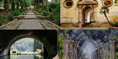 Bukti Sejarah Islam di Eropa Kaligrafi Laa Ilaha Illallah di Istana Alfabia Mallorca Spanyol