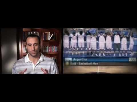 La gestione del #Talento in un team.  Manu Ginóbili racconta la sua carriera e cosa a imparato in anni e anni di allenamenti.