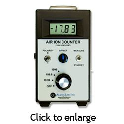 Air Ion Counter