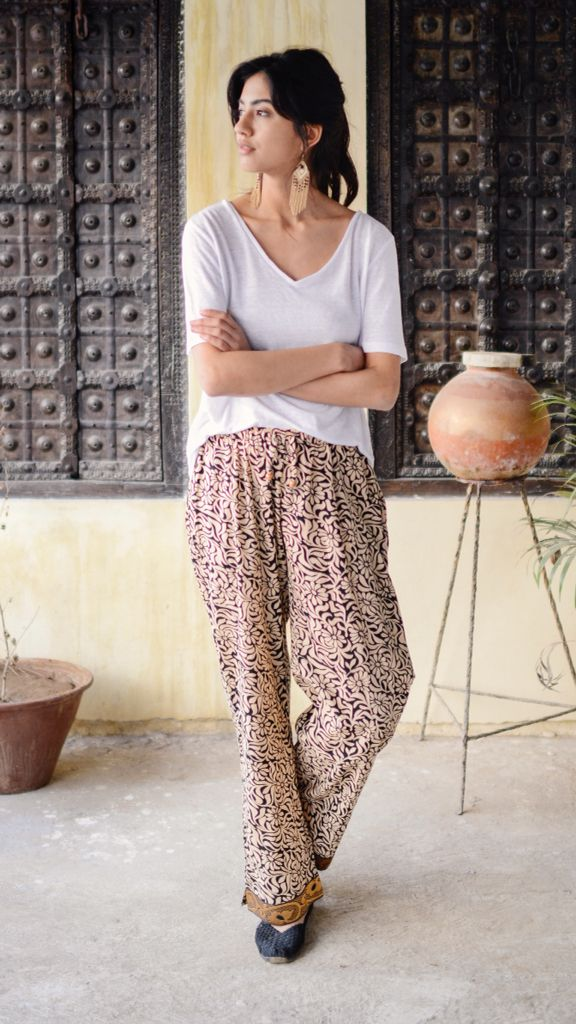 The most comfortable loungewear. Ever. And, every pair of these PUNJAMMIES™ provides sustainable, living wage employment for women in India who are working to create a better life for themselves and their children.