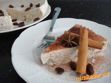 Pohankový koláč s tvarohem a pečenými jablky nepečený LEHKÝ OSVĚŽUJÍCÍ A ZDRAVÝ