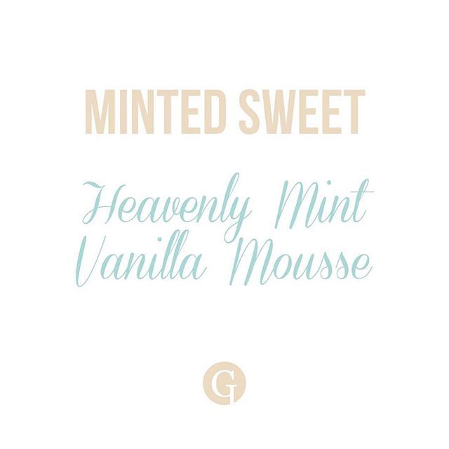 A liitle mint with a touch of sweet. Perfect combination. #GLIPS #vainilla #menta #lipbalm