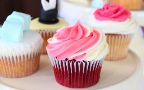 Red Velvet Cupcakes by Abby Moule