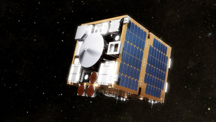 A spacecraft that will test the best methods to clean up space debris is nearing completion.