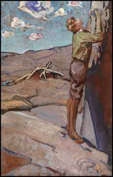 Frederick Horsman Varley - The Artist's Son