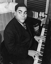 pianist Fats Waller, 1904-1943