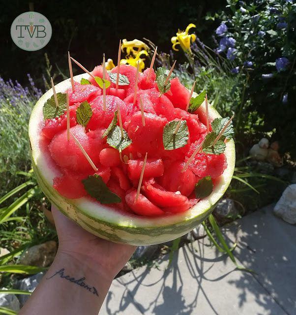 Snacks für die Heißen Tage - Tschaakii's Veggie Blog