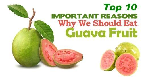Top 10 Health Benefits of Guava Fruit http://www.pinoyrecipe.net/top-10-health-benefits-of-guava-fruit/