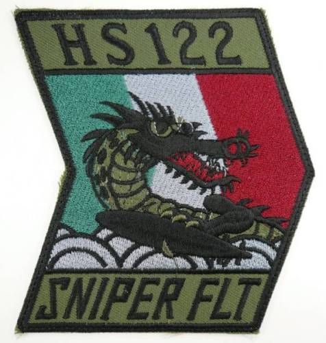 JMSDF JAPAN NAVY HS122 SNIPER FLIGHT PATCH