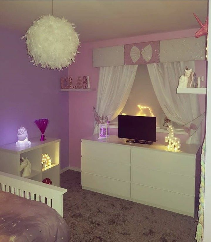 Unicorn Bedroom Unicorn Theme Little Girls Room Unicorn Room