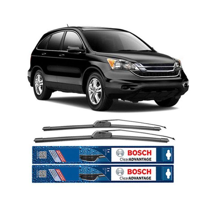 "Bosch Sepasang Wiper Frameless Clear Advantage Mobil Honda Honda CRV 3rd 26"" & 17"" - 2 Pcs/Set  Frameless Umur Pakai & Daya Tahan Lebih Lama Penyapuan kaca yang senyap Performa Sapuan Optimal Instalasi Mudah & Cepat Original Produk Bosch  http://klikonderdil.com/frame-less/1230-bosch-sepasang-wiper-frameless-clear-advantage-mobil-honda-honda-crv-3rd-26-17-2-pcsset.html  #bosch #wiper #jualwiper #frameless #hondacrv"