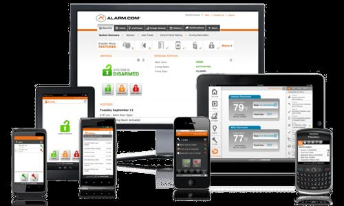 home security system mobile apps and remote access
