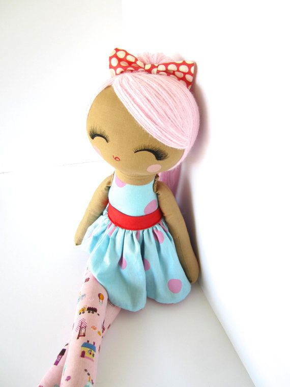 Priceless Handmade Doll Made to Order