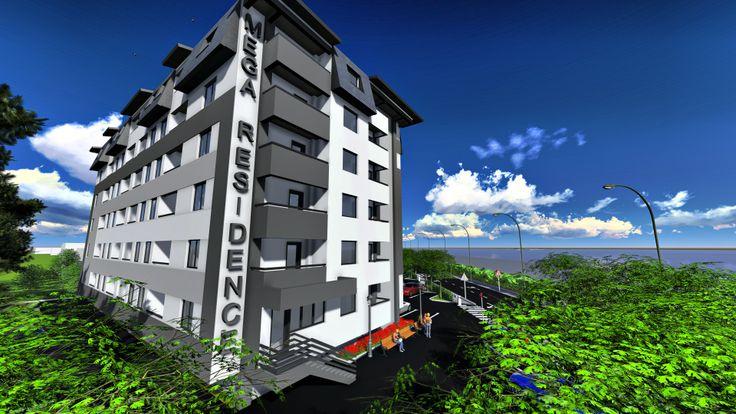 Mega Residence - ansamblu rezidential de apartamente in sectorul 4, pe bulevardul Metalurgiei