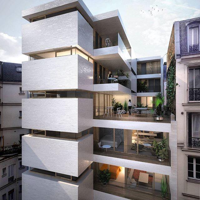 24 Logements neufs et réhabilités by Antonini + Darmon & Pascal Chalier #France