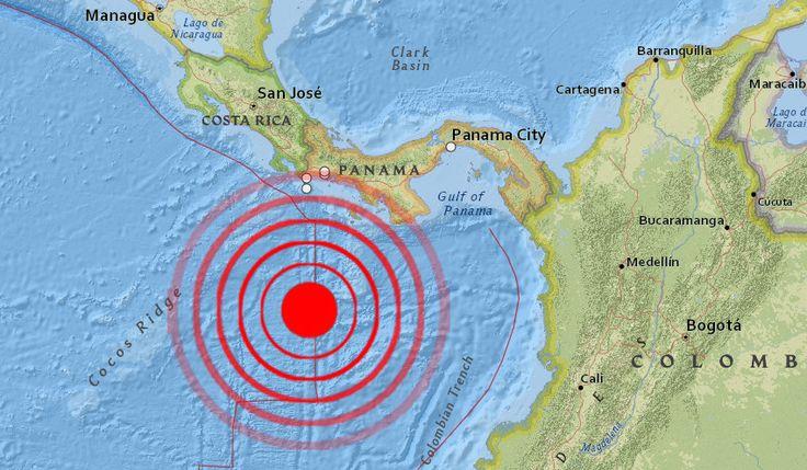 A magnitude-5.7 earthquake struck off the coast of Panama ...
