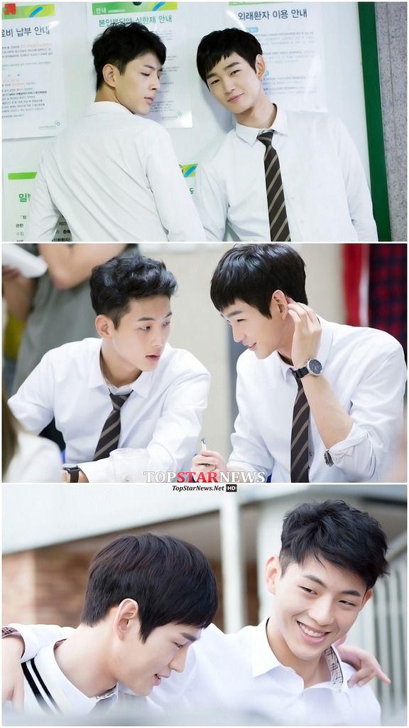 Love the bromance! Cheer Up's Lee Won Geun and Ji Soo