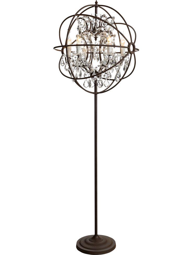 Best 25 chandelier floor lamp ideas on pinterest designer table artistic chandelier floor lamp ideas 4 decorsip mozeypictures Gallery