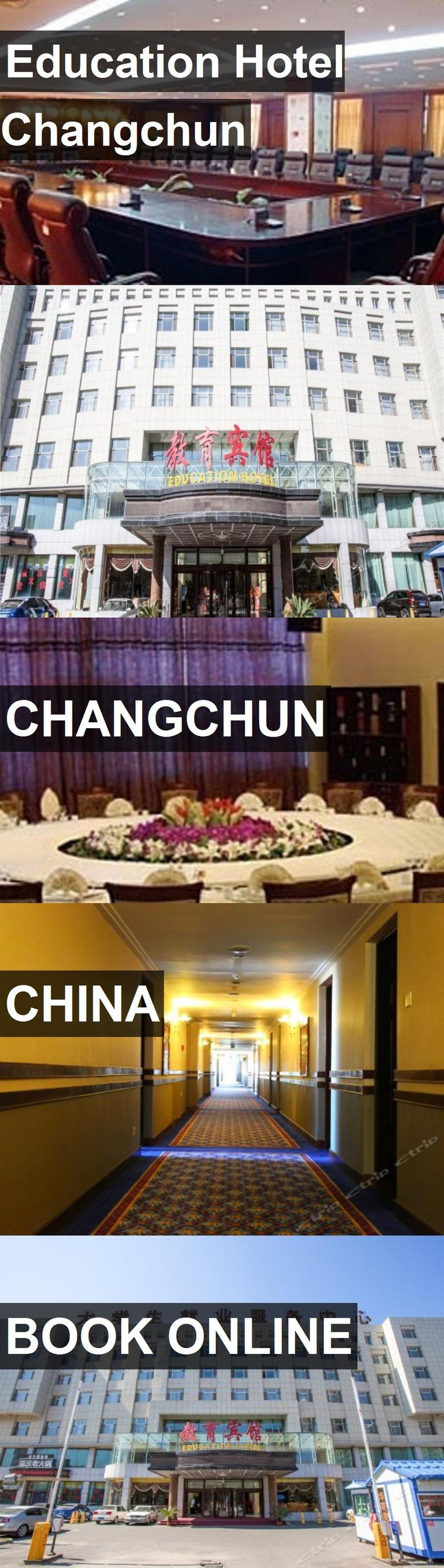 Education Hotel Changchun in Changchun, China. For more information, photos, reviews and best prices please follow the link. #China #Changchun #travel #vacation #hotel