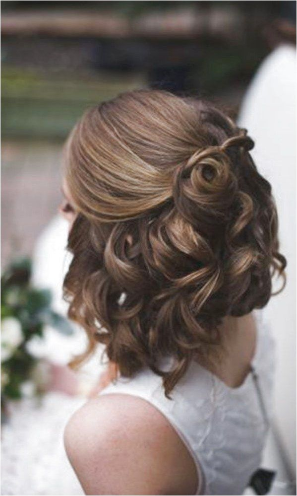 Half Up Hairstyles For Short Hair For Prom 13