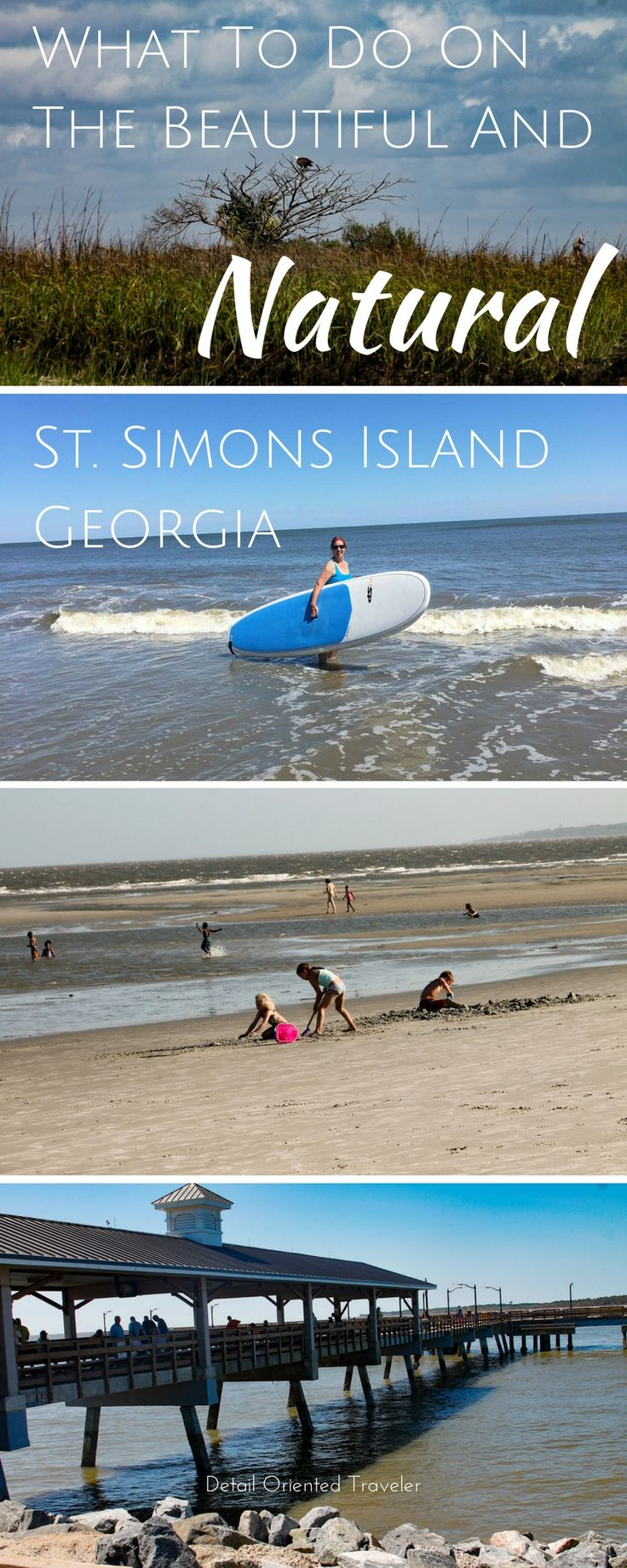 St. Simons Island Georgia is full of natural beauty, native and migratory wildlife and family fun activities. Here's what to do on this hidden gem of an island.